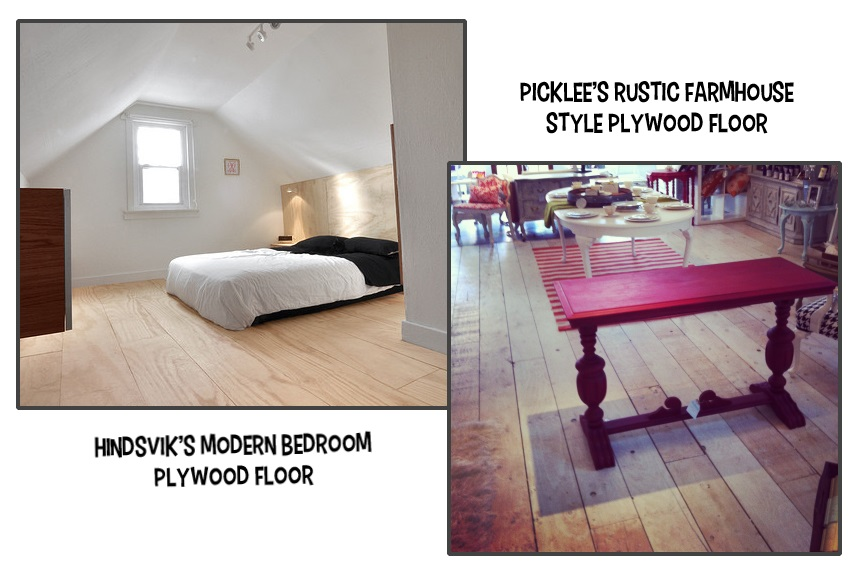 Low budget diy plywood plank floors diydork hindsvik and picklees diy floors solutioingenieria Image collections