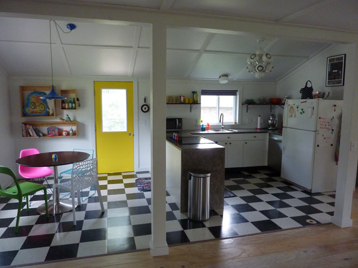 DIY Dork's new, Scandinavian style, barn house kitchen and dining room complete and ready for action