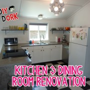 DIY Dork's Kitchen & Dining Room Renovation