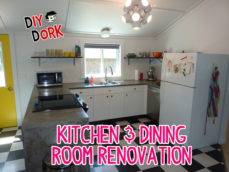 Our Barn House Kitchen & Dining Room Renovation! - Part 1 ...