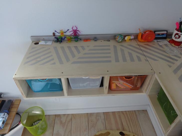 DIY Dork Stand Up Desk Short Side