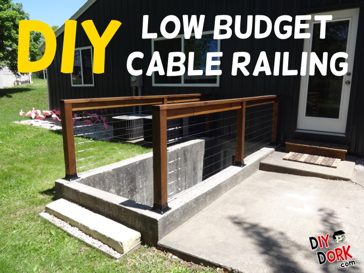 How to Build a Low Budget Stainless Steel Aircraft Cable Railing