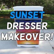 Vintage-Dresser-Modern-Sunset-Paint-Makeover