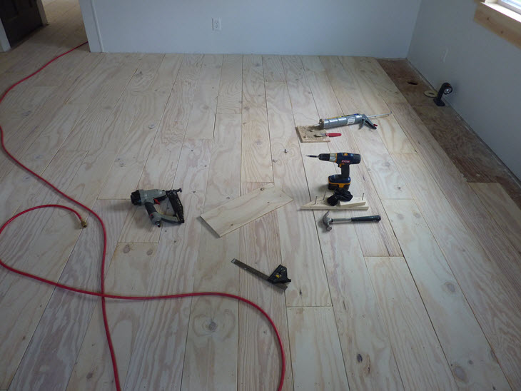 Low Budget Diy Plywood Plank Floors