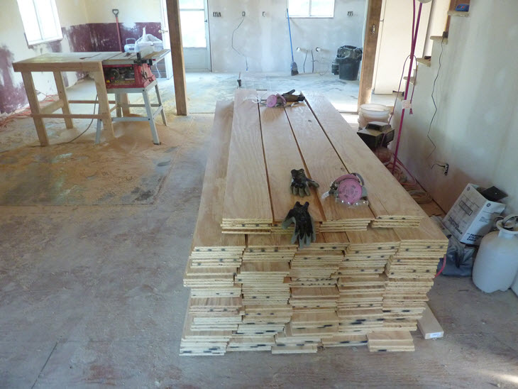 Low Budget Diy Plywood Plank Floors